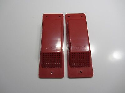 "Shipping/storage Container Cabin Air Vents Red X 2 ""easy Fit"" Free Delivery"