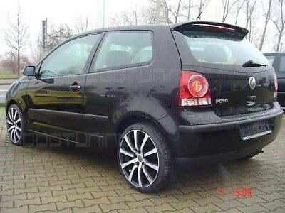 vw polo 9n 9n2 rear spoiler roof spoiler tuning. Black Bedroom Furniture Sets. Home Design Ideas