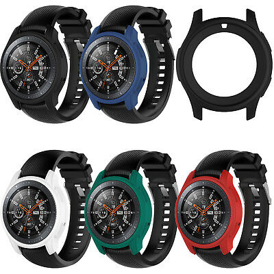 Silicone Case Cover Skin for Samsung Galaxy Watch 46mm SM-R800 & Gear S3 Frontie