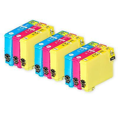 9 C/M/Y Ink Cartridges XL for Epson Expression Home XP-247 XP-335 XP-355 XP-445