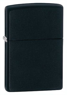"Zippo ""Black Matte"" Finish Lighter, Full Size,  218"