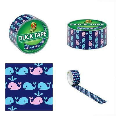 Duck 284169 Printed Duct Tape Whale Of A Time Glues, Epoxies & Cements Conductive Wire Glue Pastes