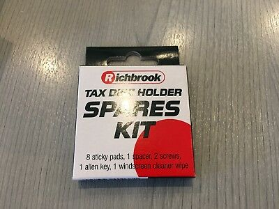 Richbrook Tax Disc Holder Spares Kit | Stock Clearance Sale