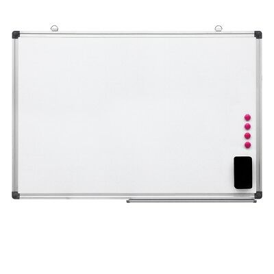 Large magnetic whiteboard dry wipe drawing board and eraser 700x500mm memo board