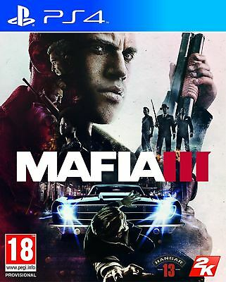 Mafia III 3 PS4 New and Sealed