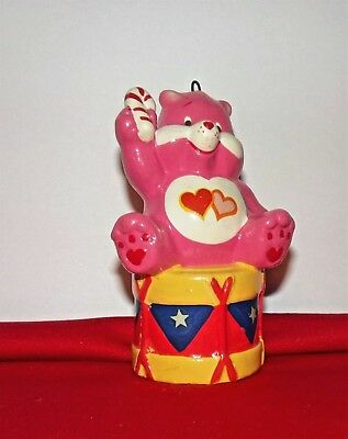 Love-A-Lot Care Bear - 1984 Christmas Ornament - Free Shipping