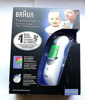 Braun ThermoScan 7 IRT6520 Baby & Adult Professional Digital Ear Thermometer