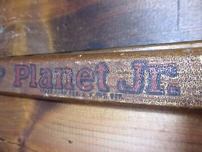 vintage garden tool-Planet Jr #2 Edger wood handle,steel wheel farm,marker