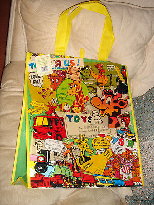 Geoffrey Toys R Us Tote Vintage  Advertisements Exclusive New Shopping Bag