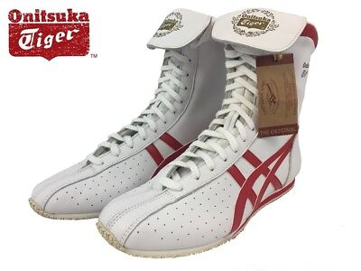 Asics Onitsuka Tiger TKO Boxing Shoes (boots) HN404 HL320 0123 White/Red