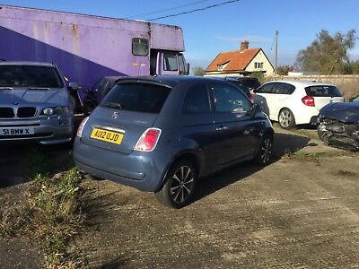 Fiat 500 twin air plus 2012 leather