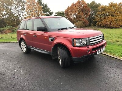 Range Rover Sport Supercharged 4.2 2006 55 Plate