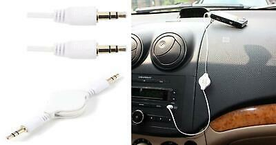 Aux Cable Audio Lead 3.5mm Jack to Jack Stereo Male for Car PC Phone