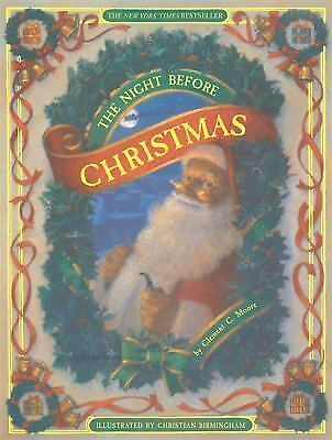 The Night Before Christmas by Clement C. Moore (2005, Hardcover, Anniversary)