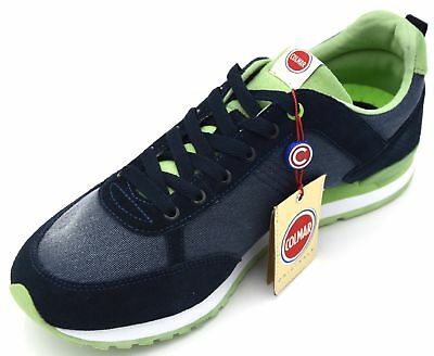 COLMAR MAN SNEAKER Shoes Casual Free Time Suede Code Classic