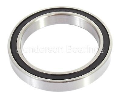 S61902-2RS, S6902-2RS Stainless Steel Thin Section Ball Bearing 15x28x7mm