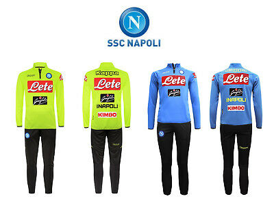 Kappa Aldebuo 2 Napoli - Training Suit Official Ssc Napoli 2019
