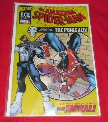Amazing Spiderman 129 # The Punisher ..excellent Copy ..wizzard Ace ,