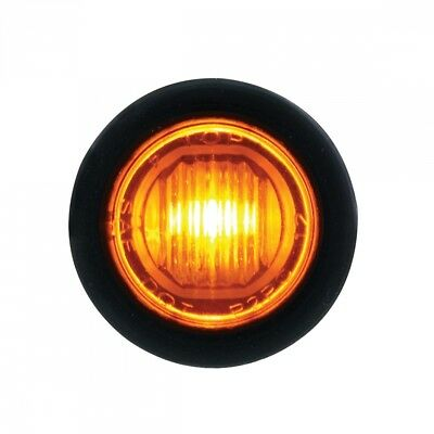 Led Mini Clearance/marker Light Competition Series - Amber Led/amber Lens