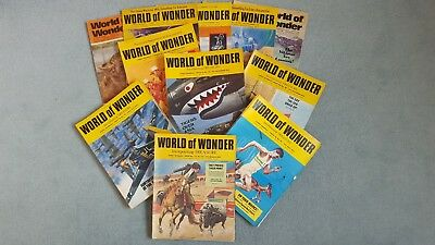 World of Wonder Vintage Magazines: Nos. 53-104 plus a few extra editions