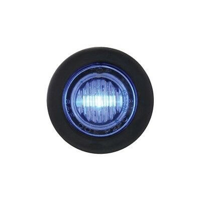 Blue Led Mini Clearance/marker Light With Clear Lens