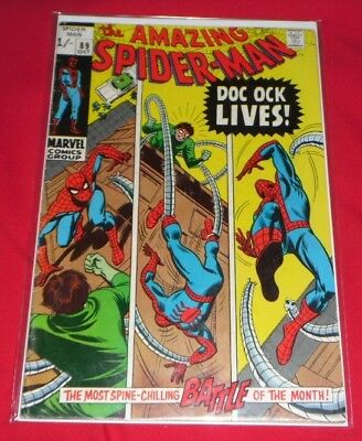 Amazing Spider-Man #89_Oct 1970_Very Good+_Doc Ock Lives