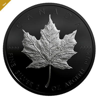 2 oz. 99.99% Pure Silver Coin - Special Edition Silver Maple Leaf (2019)