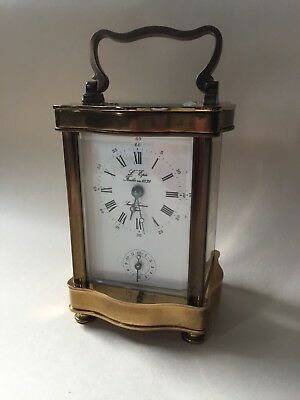 L'epee Anglais Carriage Clock Not In Working Order With Key