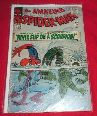 Amazing Spiderman 29#never Spep On A Scorpion Good And Nice To Own,