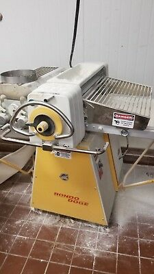 RONDO DOGE Cutomat SSO 68 C Commercial Bakery Dough Sheeter w/Cutter