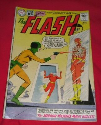 The FLASH #119 (DC)  3rd Mirror-Master Elongated Man marries Infantino c/a 1961
