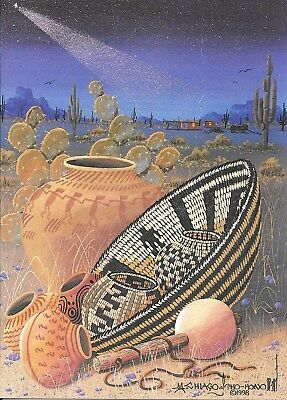 """12 Native American Holiday Cards, """"Still Life"""" by Michael Chiago"""