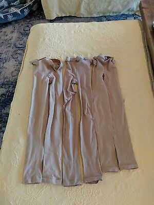 Capezio Footless Tights Size S/M