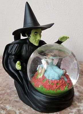 Wizard of Oz Snow Globe - Wicked Witch Dorothy Toto - Warner Brother Exclusive