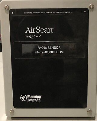 AirScan™ IR-F9 Standalone Refrigerant Monitor for Cold Storage