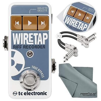 TC Electronic WireTap Riff Recorder Pedal with Bluetooth Connectivity and App wi