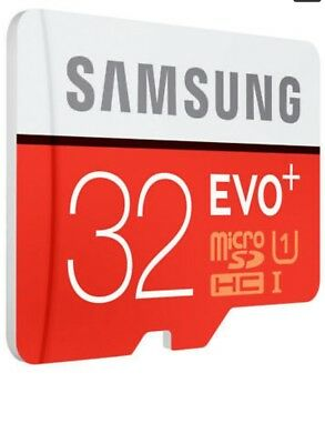 Samsung 32GB Micro SD Card SDHC EVO UHS-I Class 10 TF Memory Card FAST NEW 5YEA