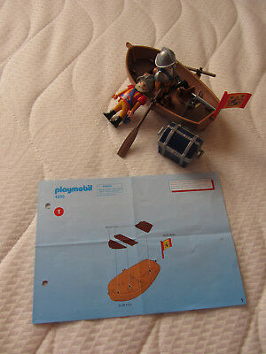 Playmobil 4295 Schatztransport im Ruderboot