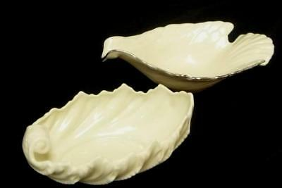 Lenox Special Edition Dove and Acanthus Leaf Bowl Trinket Bowl Collectible
