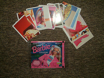 Barbie Adventure Sticker 1994/ Panini/ Diamond Album/ 52 Stickers