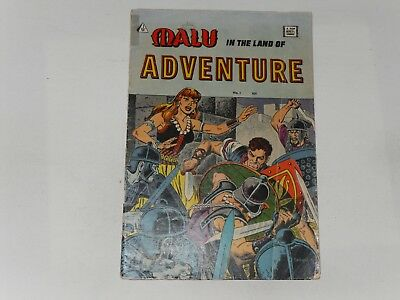 Malu In The Land Of Adventure #1 1958  I.w, Comics Reprints Avon Comic From 1949