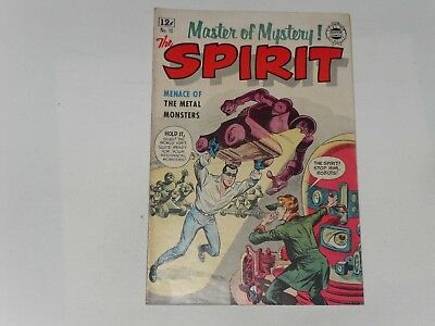 The Spirit  #12  1964   I.w, Comics   Very Good Plus