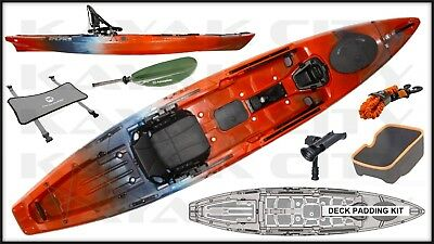 Wilderness Systems Radar 135 Kayak - Fishing Package (Multiple Colors Available)