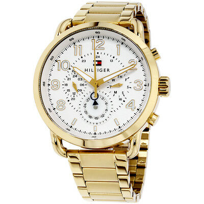 Tommy Hilfiger Briggs White Dial Stainless Steel Men's Watch 1791455