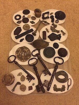 Metal Detecting Finds... Selection Of Genuine Finds.. See Photos
