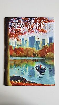 The New Yorker Magazine November 12th 2018 NEW Beutiful cover illustration