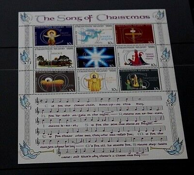 Christmas Island 1975 Christmas Minature Sheet Very Fine M/n/h