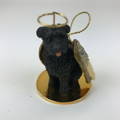 Bouvier (uncropped ears) dog ornament Tiny Ones Conversation Concepts new