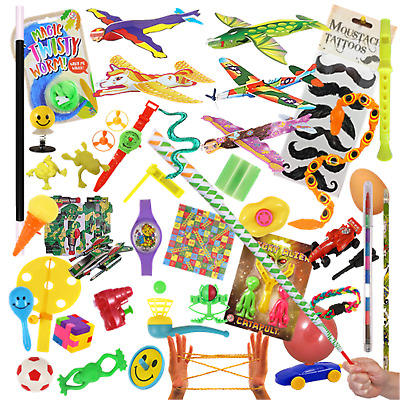 6 Party Bag Fillers Kids Xmas Stocking Toy Gift Loot Prizes Lucky Dip Tombola