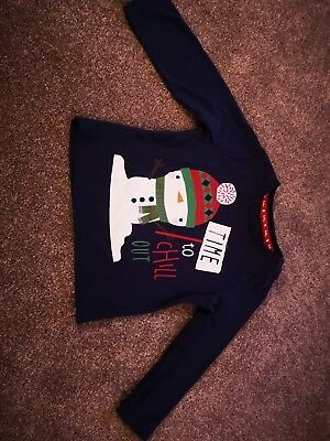 TU Baby Christmas Top 9 To 12 Months